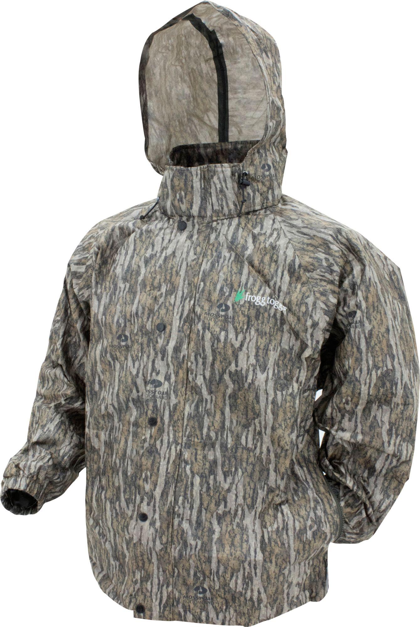 frogg toggs Men's Classic Pro Action Rain Jacket, Size: 3XL, Mossy Oak Bottomland thumbnail