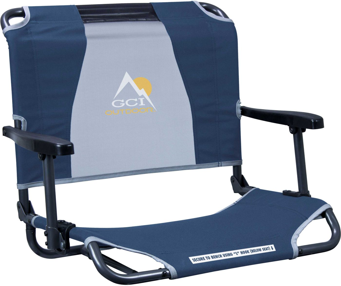 GCI Outdoor Big Comfort Stadium Chair with Armrests