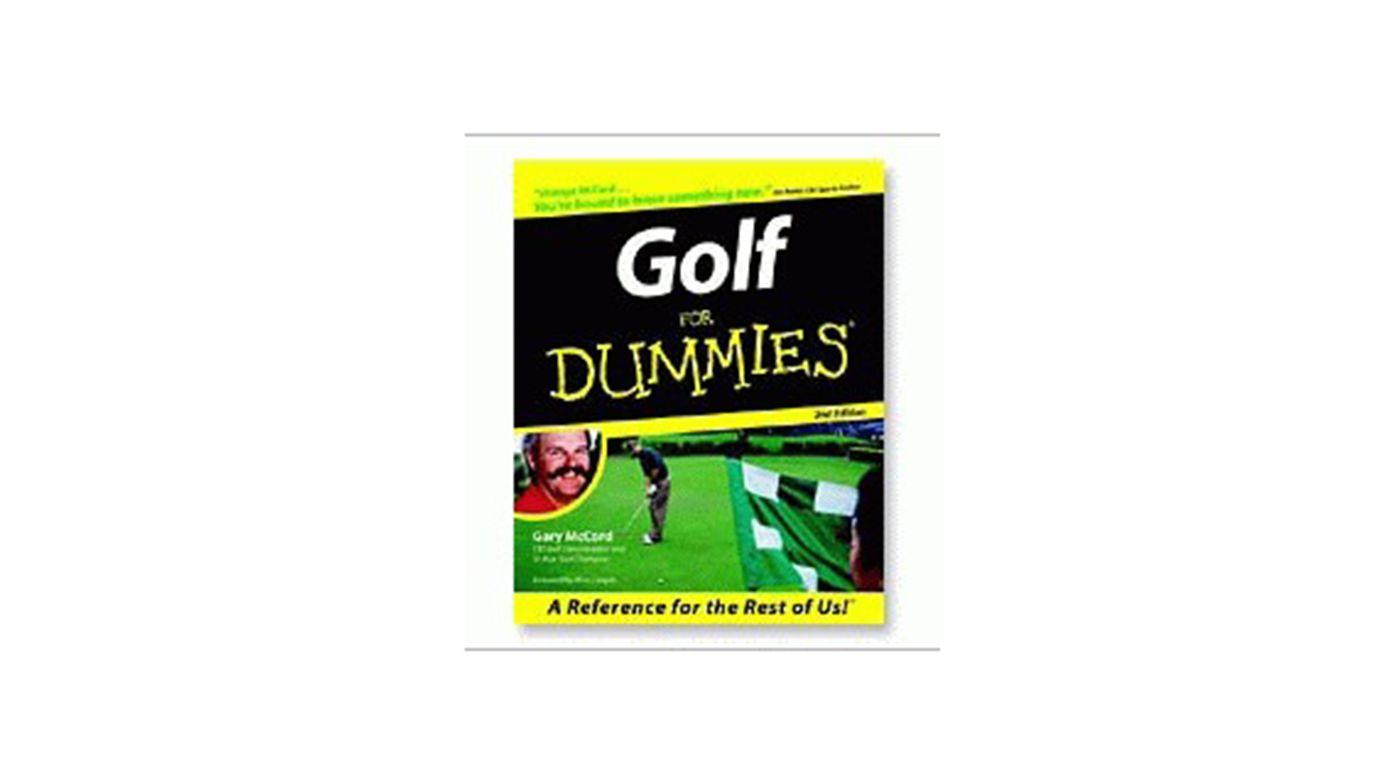 Booklegger Golf For Dummies Instructional DVD