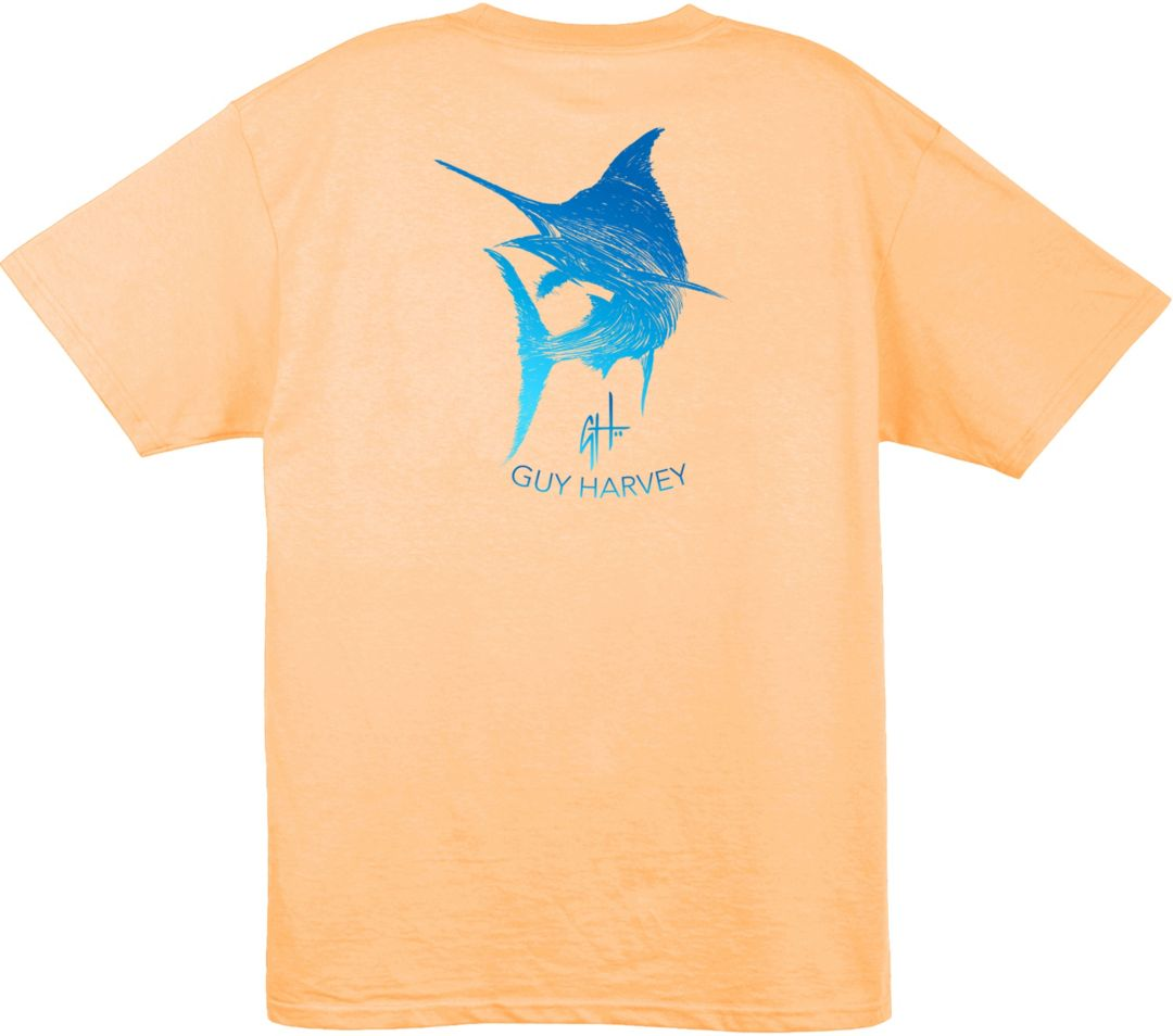 c2078a45a Guy Harvey Men's Marlin Scribble T-Shirt | DICK'S Sporting Goods