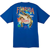 Guy Harvey Men's Florida Gators Blue T-Shirt