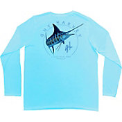 Guy Harvey Men's Switchblade Long Sleeve Shirt