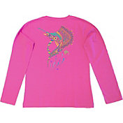 Guy Harvey Women's Sailfish Mandala Long Sleeve Shirt