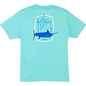 Guy Harvey Boys' Barrel Logo T-Shirt