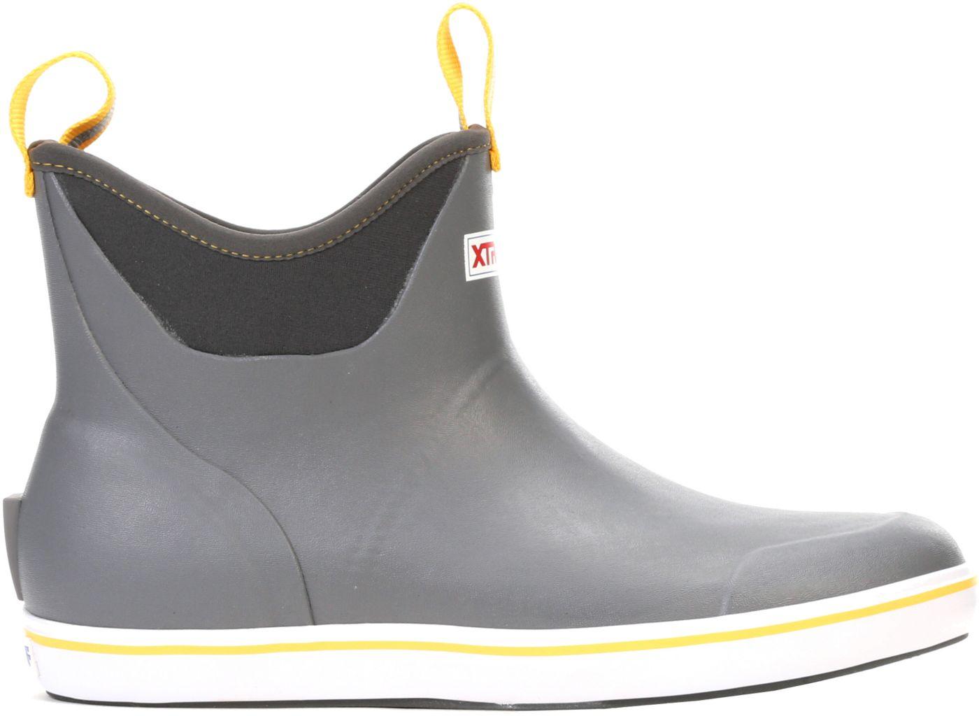 XTRATUF Men's 6'' Ankle Waterproof Deck Boots
