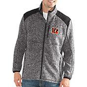 G-III Men's Cincinnati Bengals Backcountry Black Full-Zip Jacket