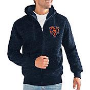 G-III Men's Chicago Bears Discovery Navy Full-Zip Jacket