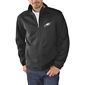 G-III Men's Philadelphia Eagles Audible Black Full-Zip Jacket