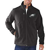 G-III Men's Philadelphia Eagles Soft Shell Black Jacket