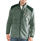 G-III Men's Green Bay Packers Backcountry Green Full-Zip Jacket