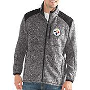 G-III Men's Pittsburgh Steelers Backcountry Black Full-Zip Jacket
