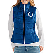 G-III for Her Women's Indianapolis Colts Wingback Royal Full-Zip Vest