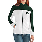 G-III for Her Women's New York Jets Playmaker Rhinestone Track Jacket