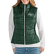 G-III for Her Women's New York Jets Wingback Green Full-Zip Vest