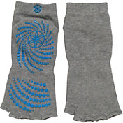 Gaiam Toeless All-Grip No-Slip Yoga Socks