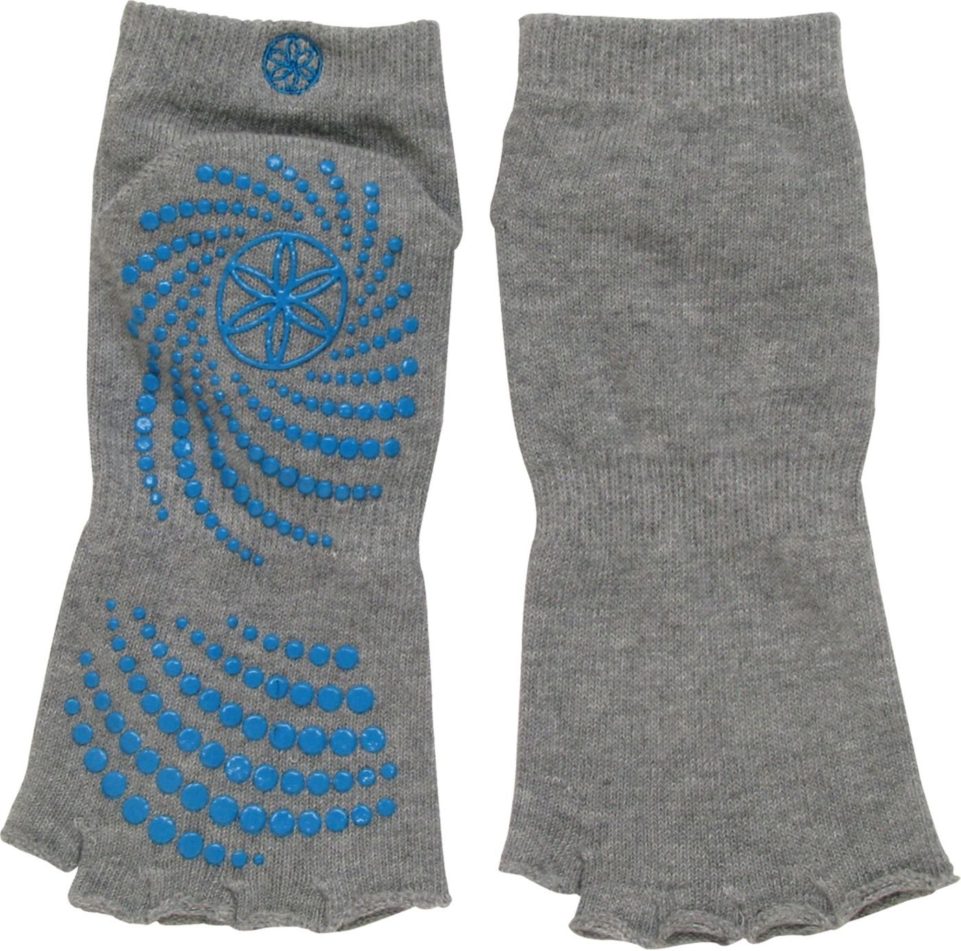Gaiam Toeless All-Grip No-Slip Yoga Socks
