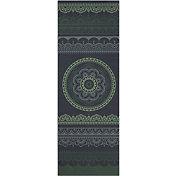 Gaiam 6mm Premium Print Reversible Yoga Mat
