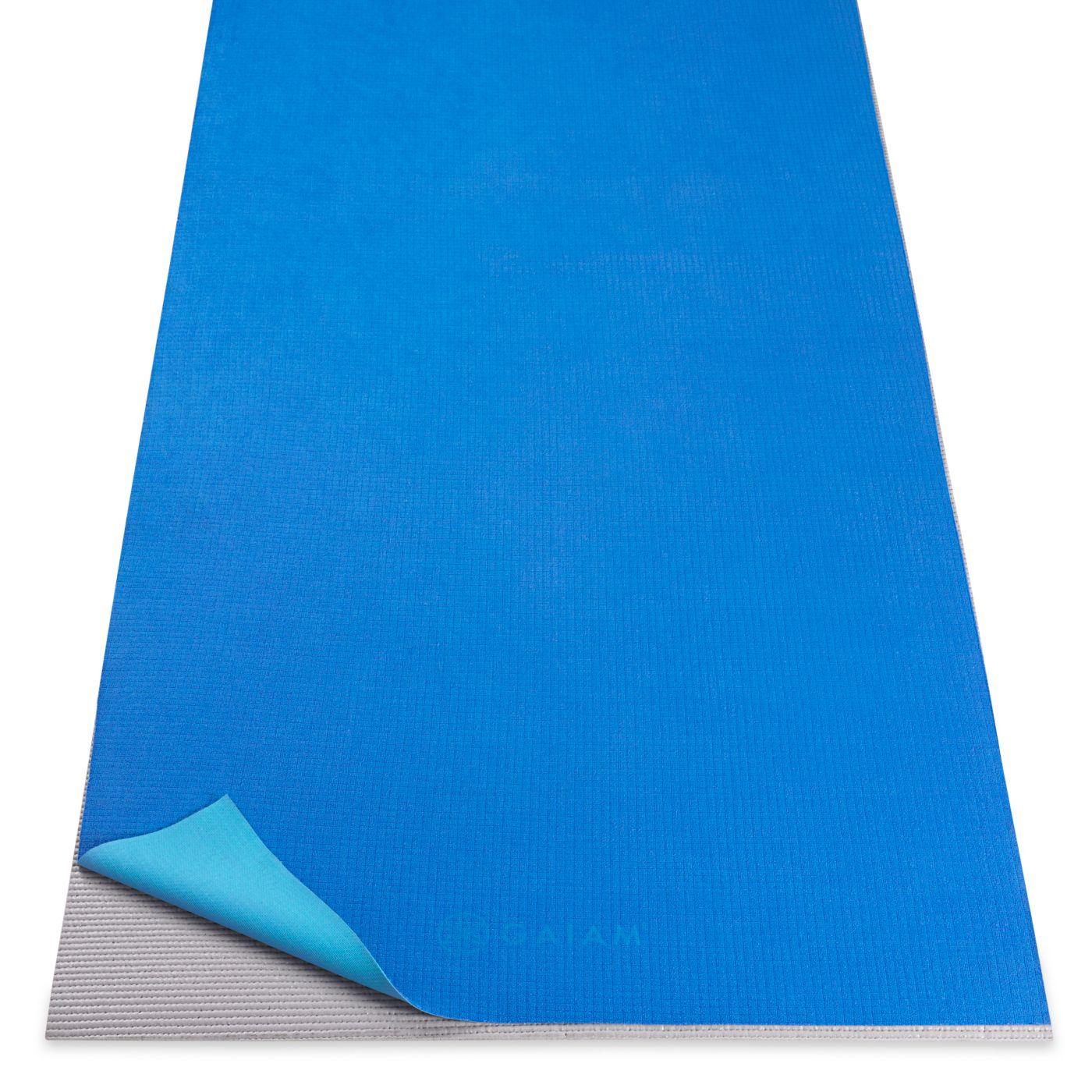 Gaiam No-Slip Hot Yoga Mat Towel