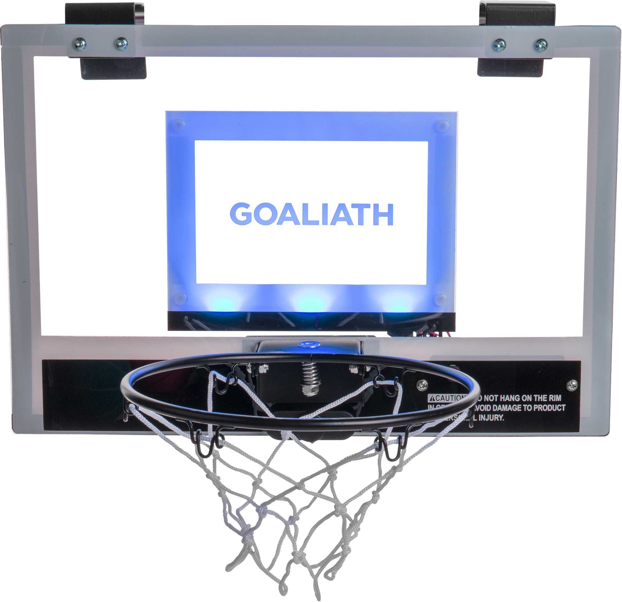 Goaliath 18 Light Up Mini Basketball Hoop Dick S