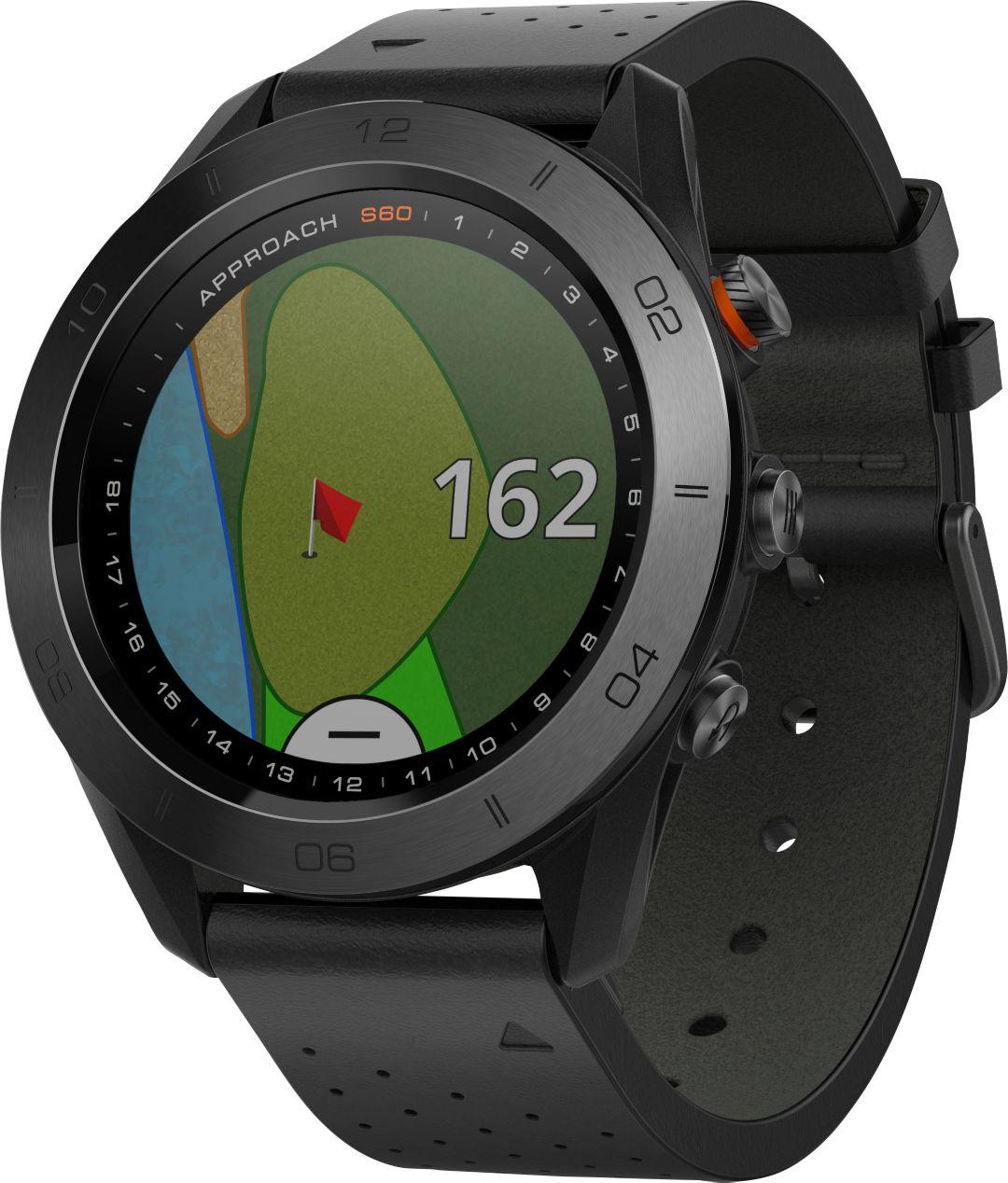 Garmin Gps Watch >> Garmin Approach S60 Premium Golf Gps Watch