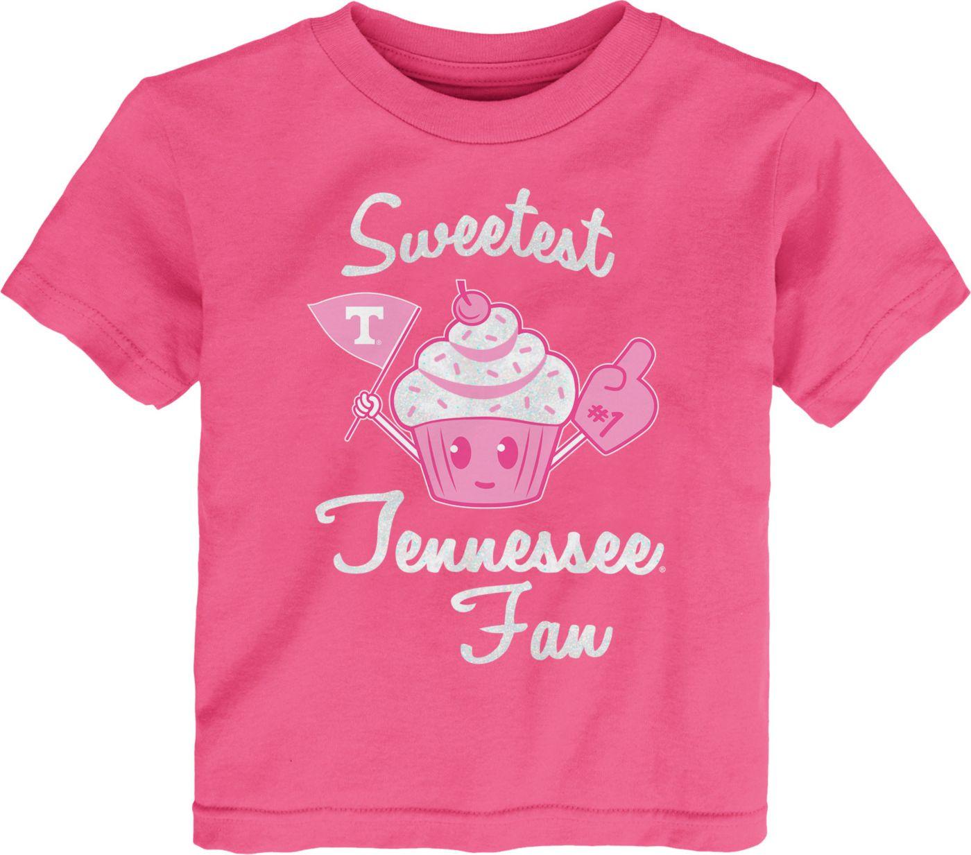 Gen2 Toddler Girls' Tennessee Volunteers Pink 'Sweetest Fan' T-Shirt