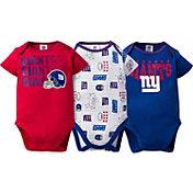 Gerber Infant New York Giants 3-Piece Onesie Set