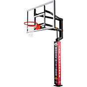 Goalsetter Iowa / ISU House Divided Basketball Pole Pad