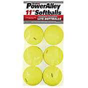 Heater 11'' Power Alley Lite Softballs – 6 Pack