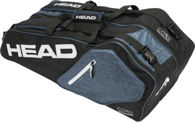 Head Tennis Bag >> Head Core 6r Combi Tennis Bag