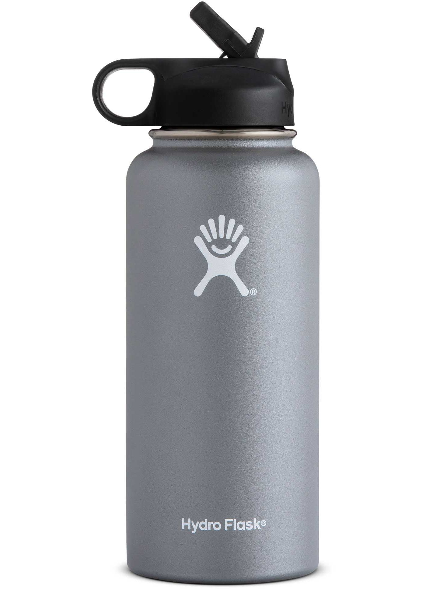 Hydro Flask Wide Mouth 32 oz. Bottle with Straw Lid