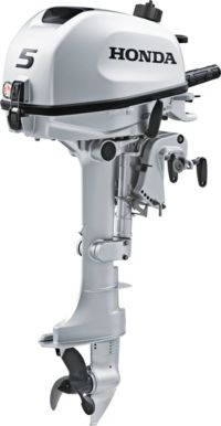 Honda 5HP Portable Outboard Motor
