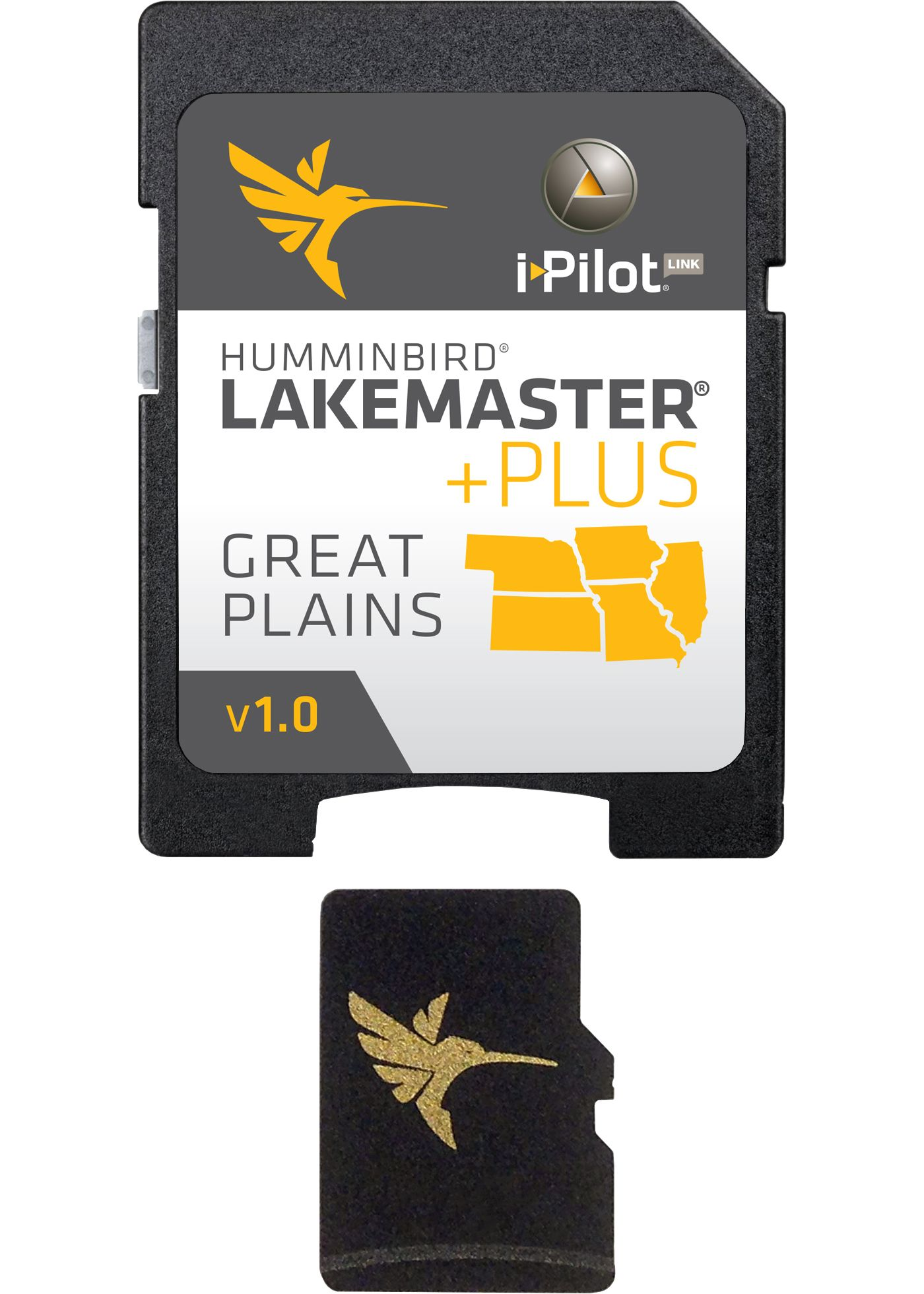 Humminbird Lakemaster PLUS Great Plains Map Card