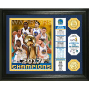 Highland Mint 2017 NBA Finals Champions Golden State Warriors 'Banner' Panoramic Bronze Coin Photo Mint