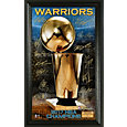 Highland Mint 2017 NBA Finals Champions Golden State Warriors 'Trophy' Signature Photo