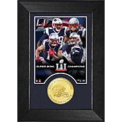 Highland Mint Super Bowl LI Champions New England Patriots Bronze Coin Mini Photo Mint