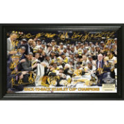 Highland Mint 2017 Stanley Cup Champions Pittsburgh Penguins Signature Rink Photo