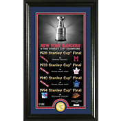 Highland Mint New York Rangers Legacy Supreme Bronze Coin Panoramic Photo Mint