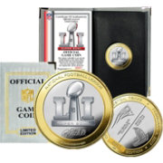 Highland Mint Super Bowl LI Official Two-Tone Flip Coin