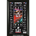 Highland Mint Super Bowl LI New England Patriots Signature Ticket