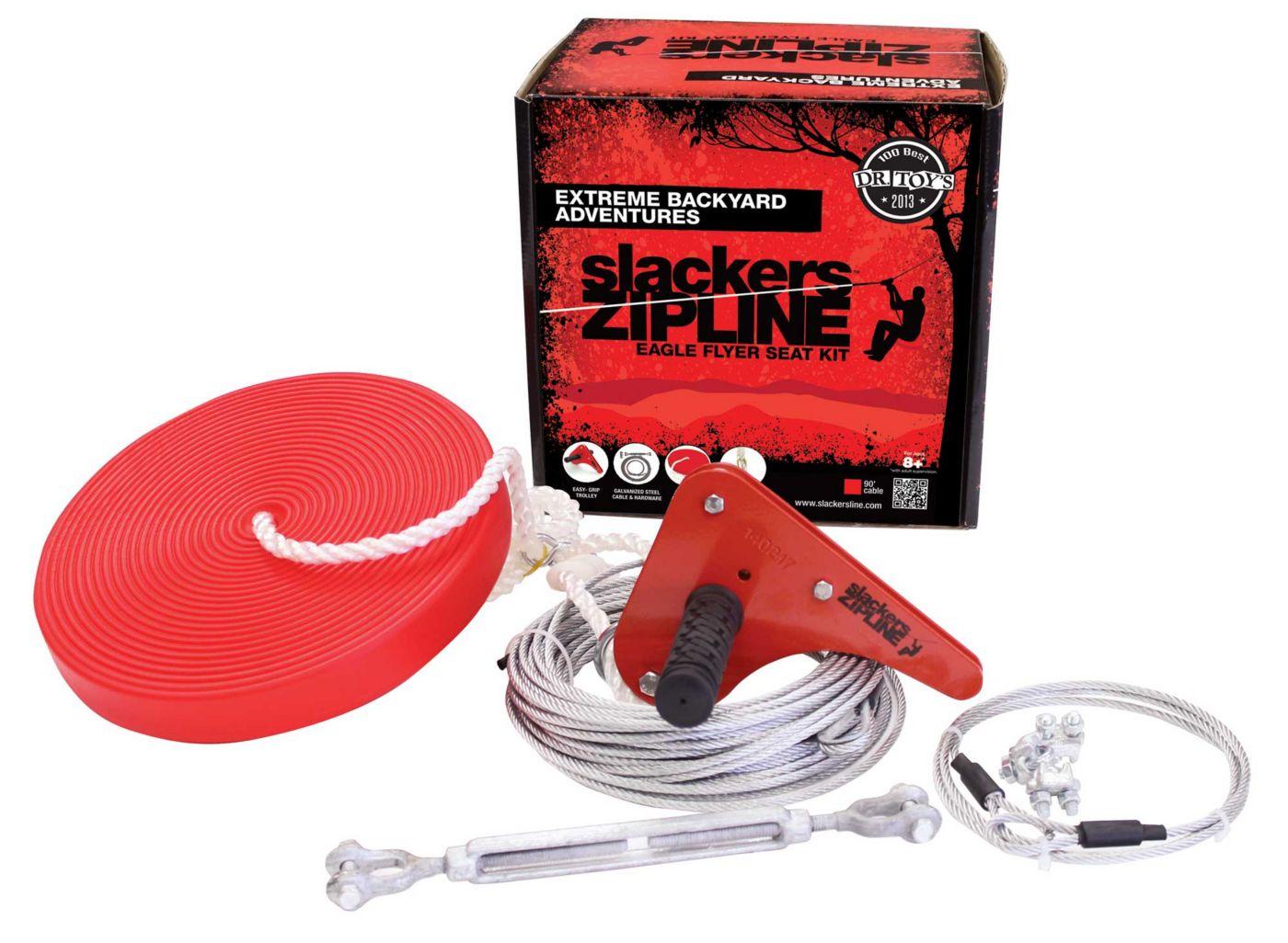Slackers 90' Eagle Zipline Kit