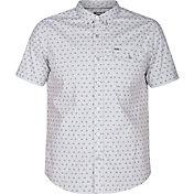 Hurley Men's Brooks Woven Short Sleeve Shirt