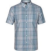 Hurley Men's Dri-FIT Johnny Woven Short Sleeve Shirt