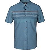 Hurley Men's Paradise Cove Woven Short Sleeve Shirt