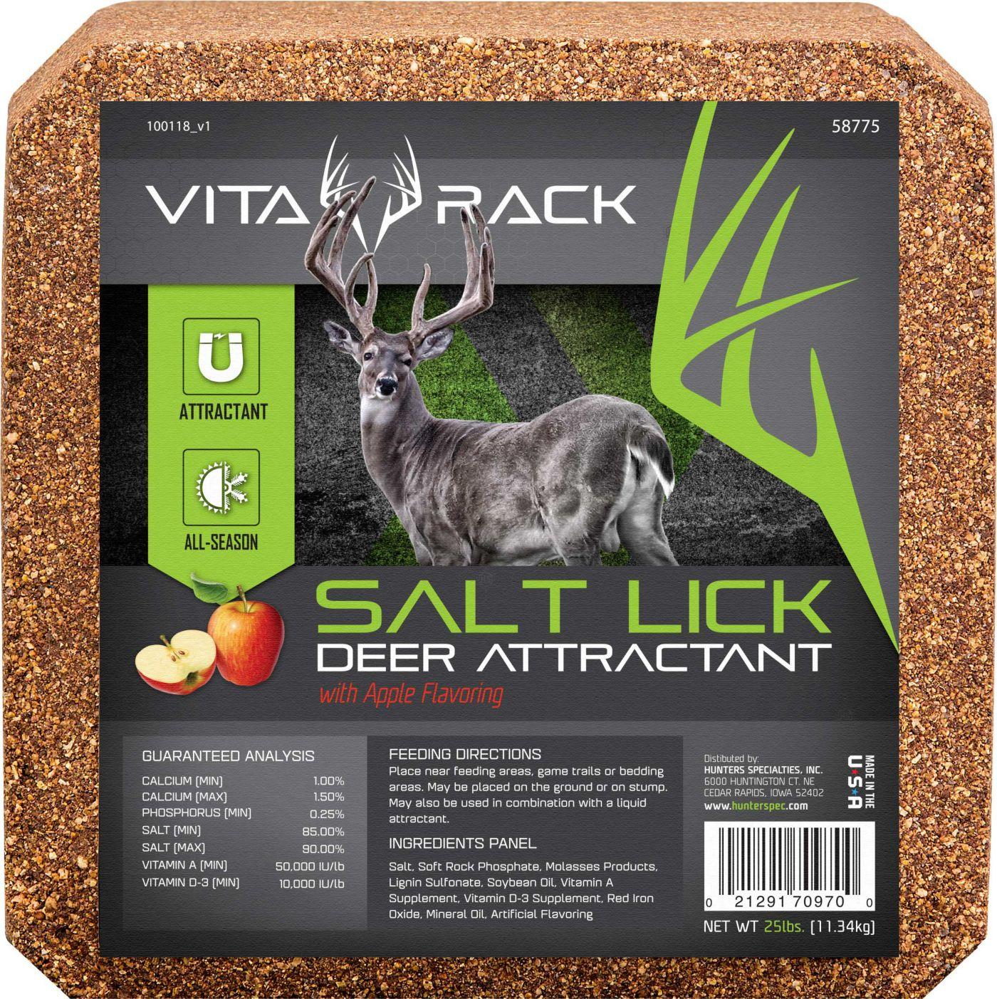 Hunters Specialties Vita-Rack Salt Block – Apple