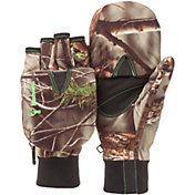 Huntworth Youth Classic Pop Top Camo Gloves