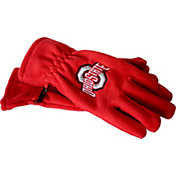 OSU Ohio State Buckeyes Fleece Gloves