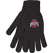OSU Ohio State Buckeyes Knit Gloves