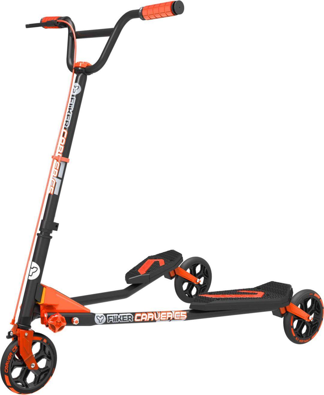 Y Fliker Scooter >> Yvolution Y Fliker Carver C5 Scooter