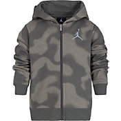 Jordan Boys' P51 Flight Fleece Full-Zip Hoodie