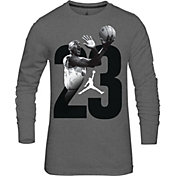 Jordan Boys' 2X Long Sleeve Shirt